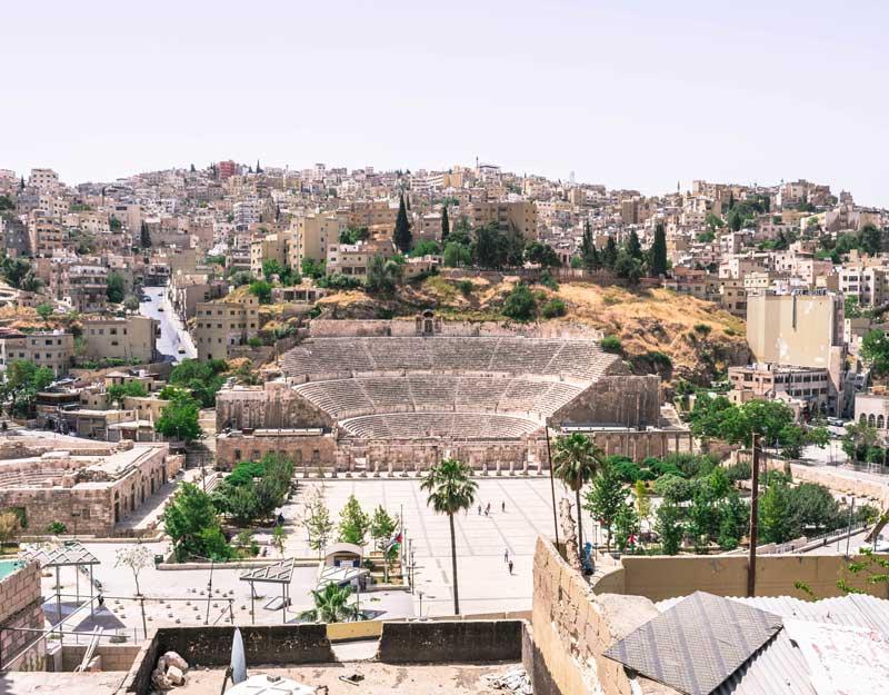 Amman in un giorno: teatro romano