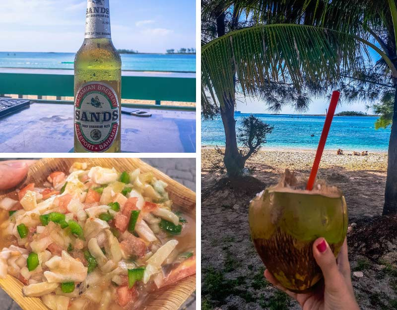 Cosa mangiare alle Bahamas