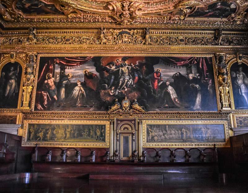 Interni del Palazzo Ducale di Venezia