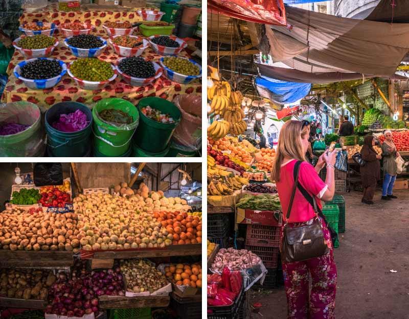 Il mercato di Downtown Amman