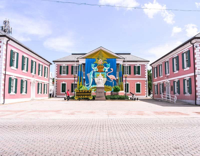 Parlamento delle Bahamas a Nassau