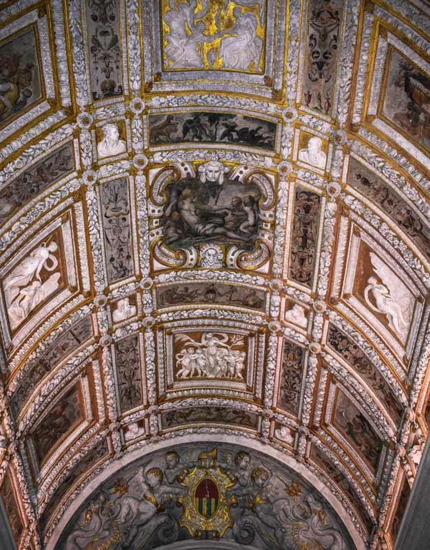 Soffitto di Palazzo Ducale
