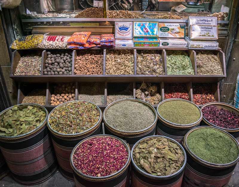 Le spezie di Amman, capitale giordana
