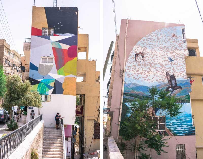 Street art ad Amman