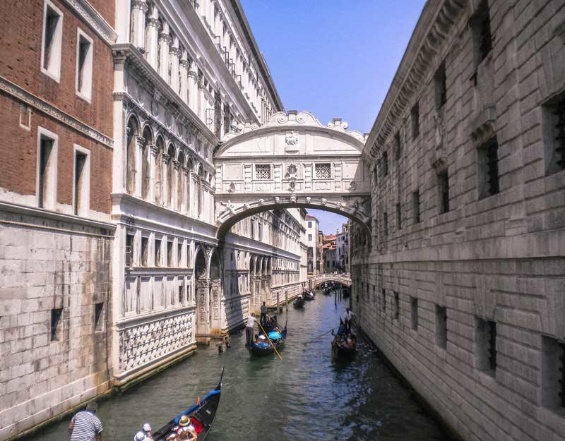 Venezia in un giorno: ponte dei Sospiri