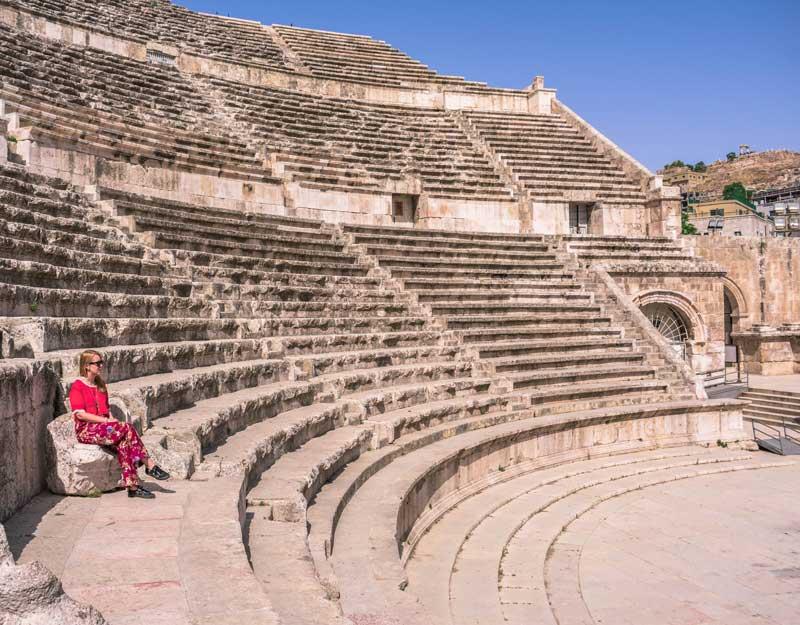 Visitare Amman: teatro romano