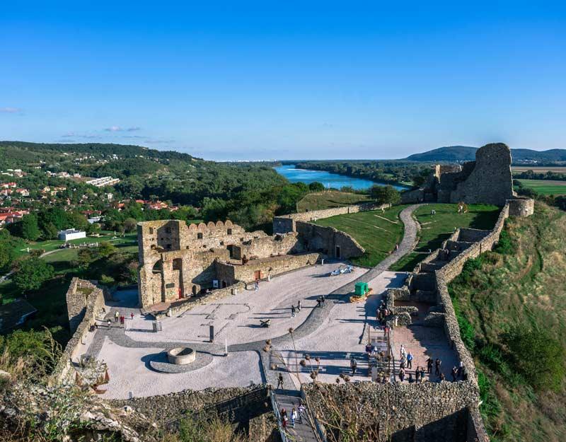 Cosa vedere nei dintorni di Bratislava: il Castello di Devin