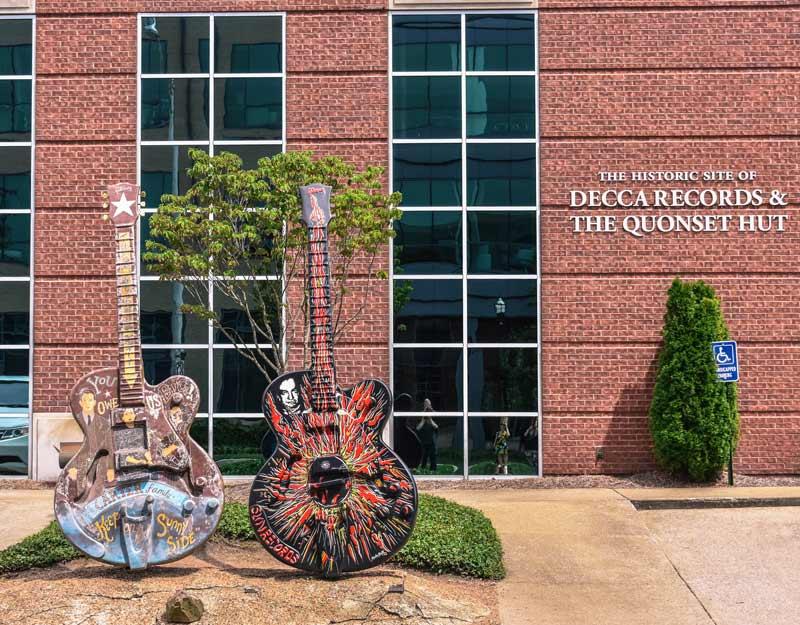 Segnali di musica country a Nashville