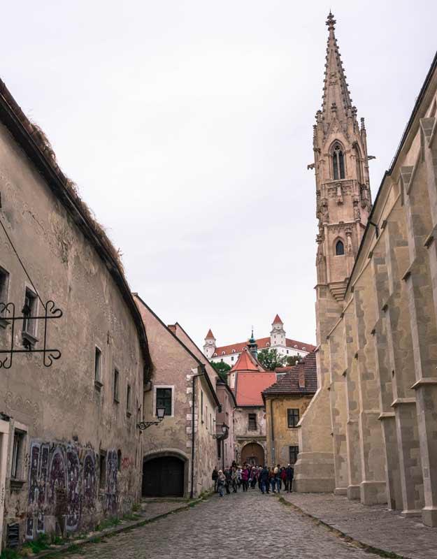 Scorcio di Bratislava