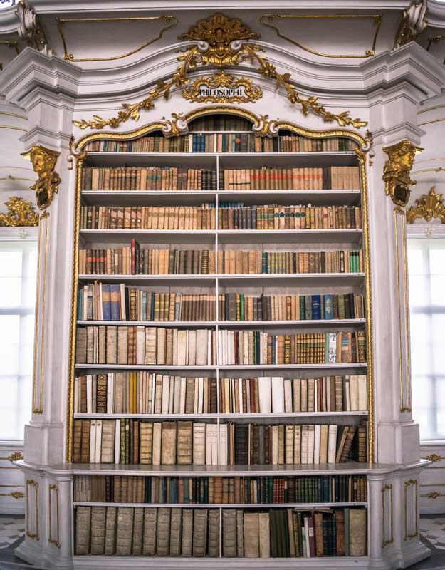 Volumi della biblioteca di Admont
