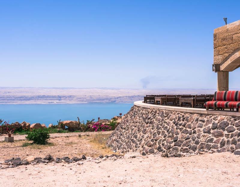 Dead Sea Museum in Giordania