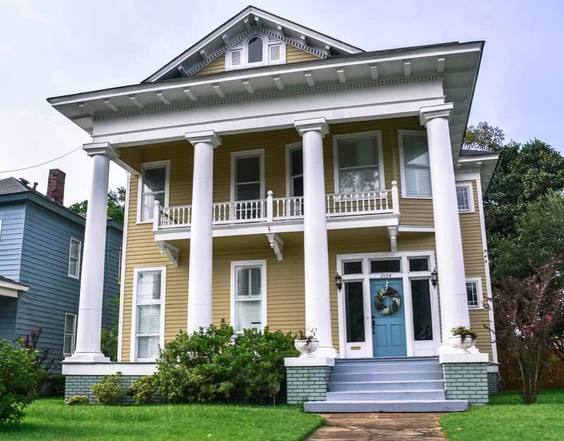 Dimora storica a Mobile, Alabama