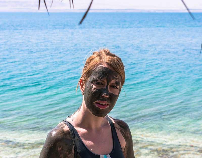 Fanghi del Mar Morto in Giordania