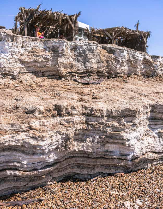 Spiagge libere del Mar Morto in Giordania