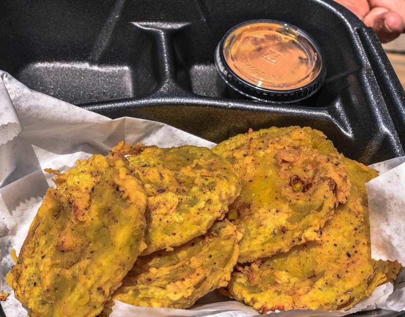 Cucina del Sud USA: pomodori verdi fritti