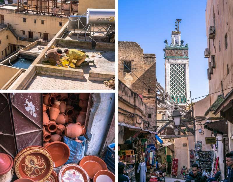 Fez in Marocco