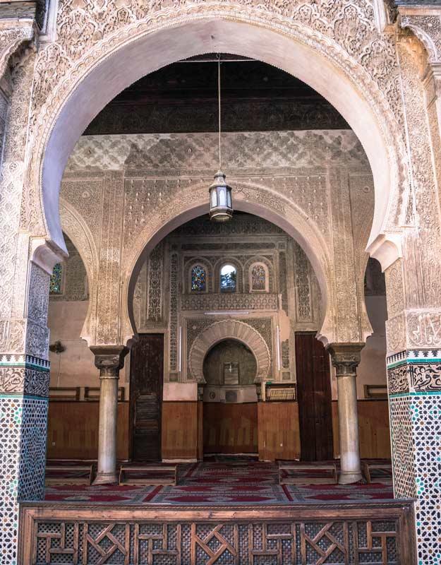 Cosa vedere a Fez: Madrasa Bou Inania