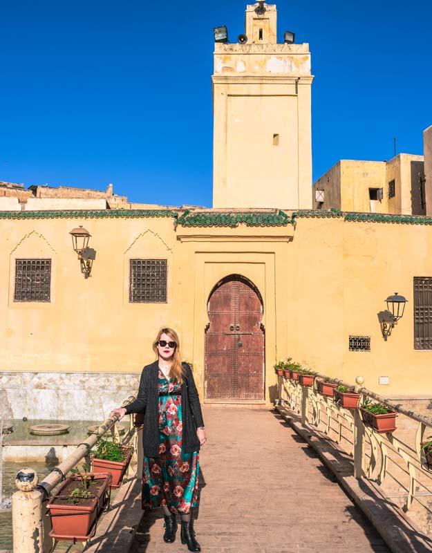 Piazza nella medina di Fez