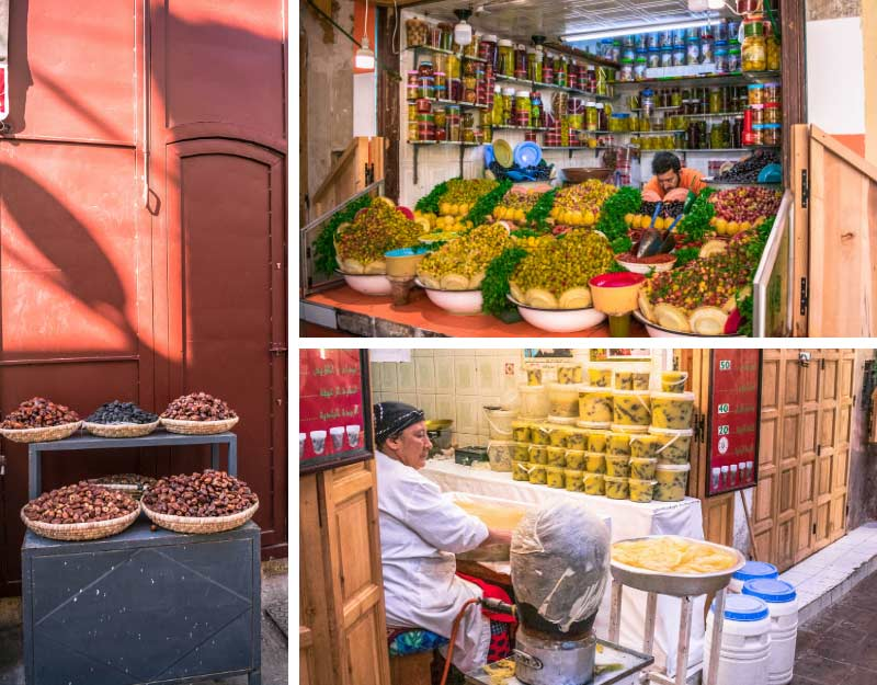 Mercato nella medina di Fez