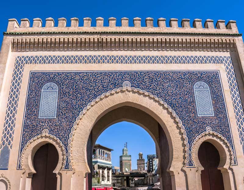 Porta Bab Bouljoud a Fez