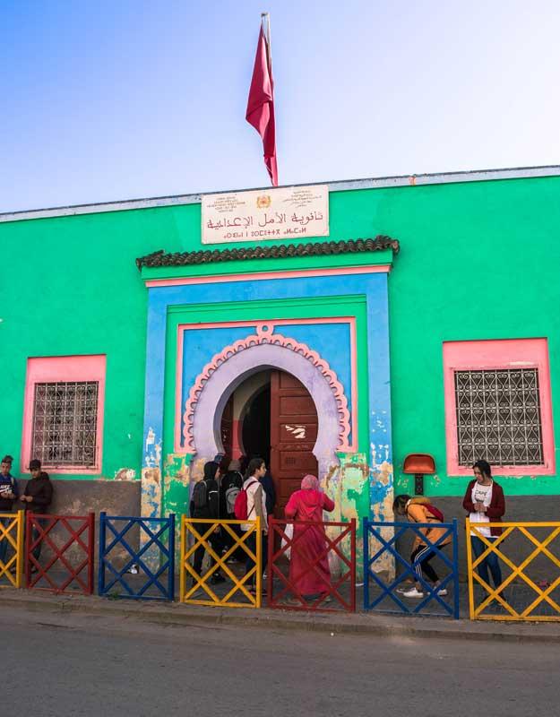 Scuola di Fez in Marocco