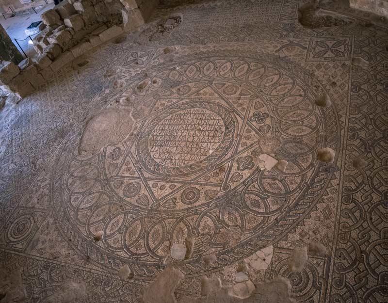 Visitare il parco archeologico di Madaba