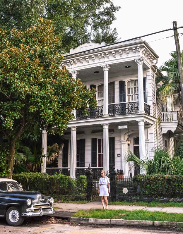 Dimore storiche nel Garden District di New Orleans