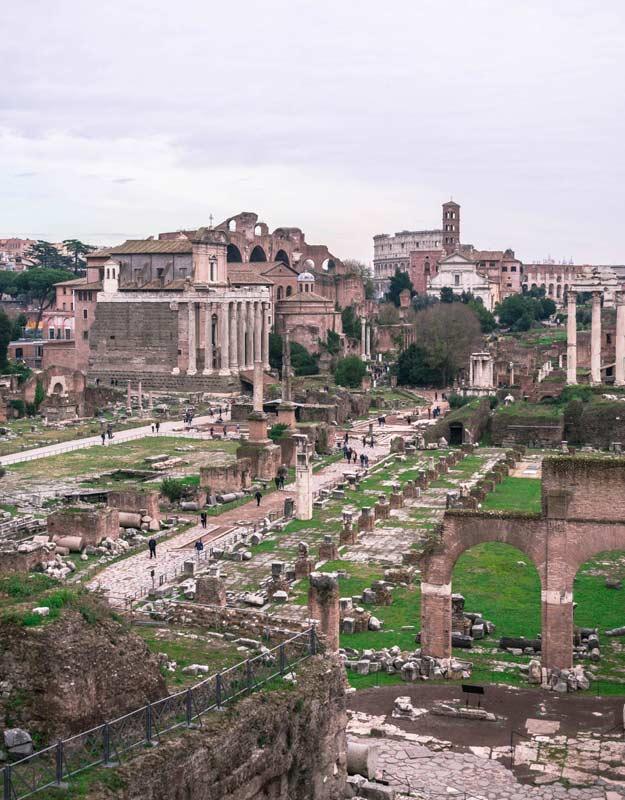 Fori romani a Roma