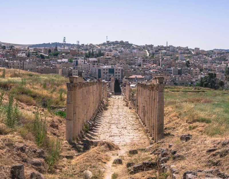 Jerash in un giorno