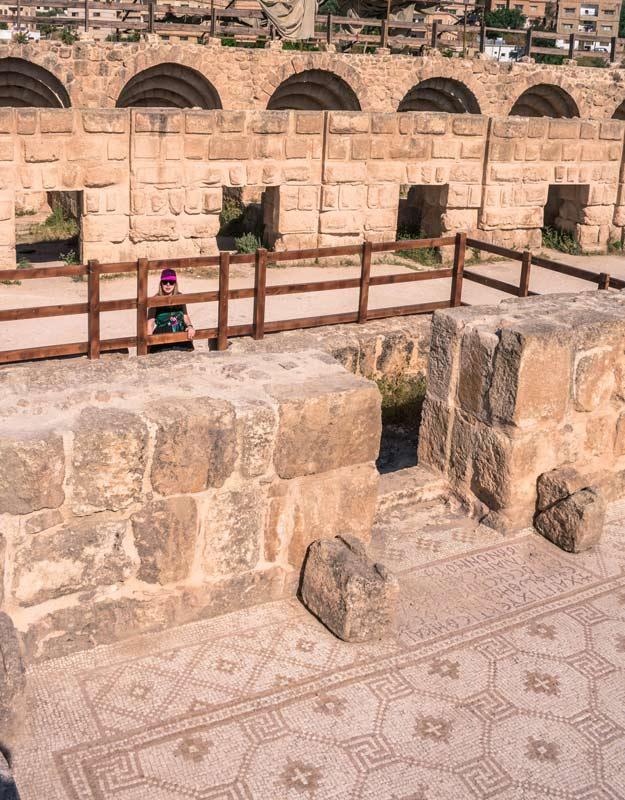 Mosaici di Jerash