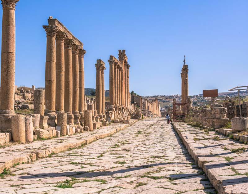 Parco archeologico di Jerash