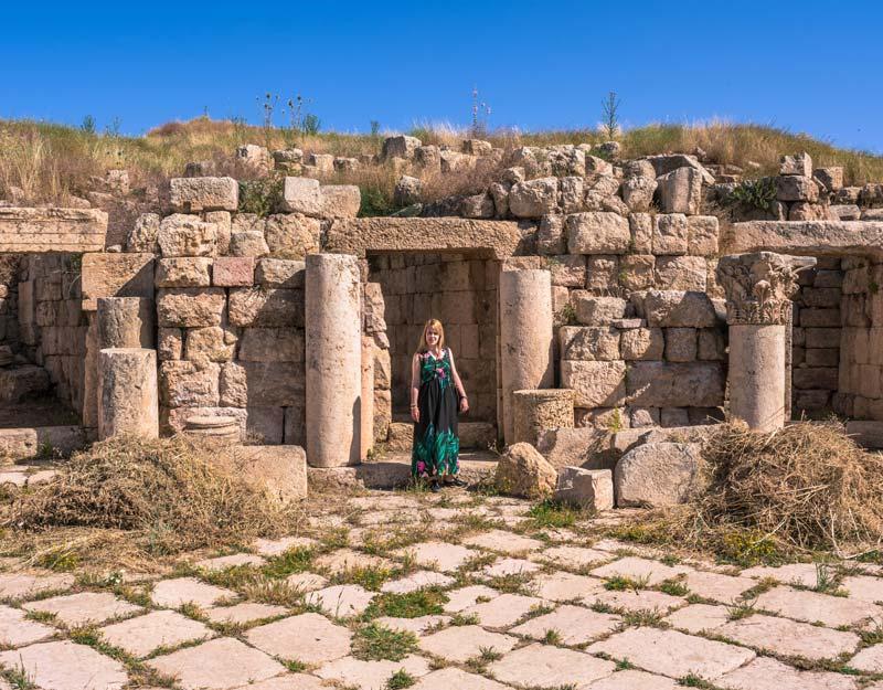 Resti a Jerash