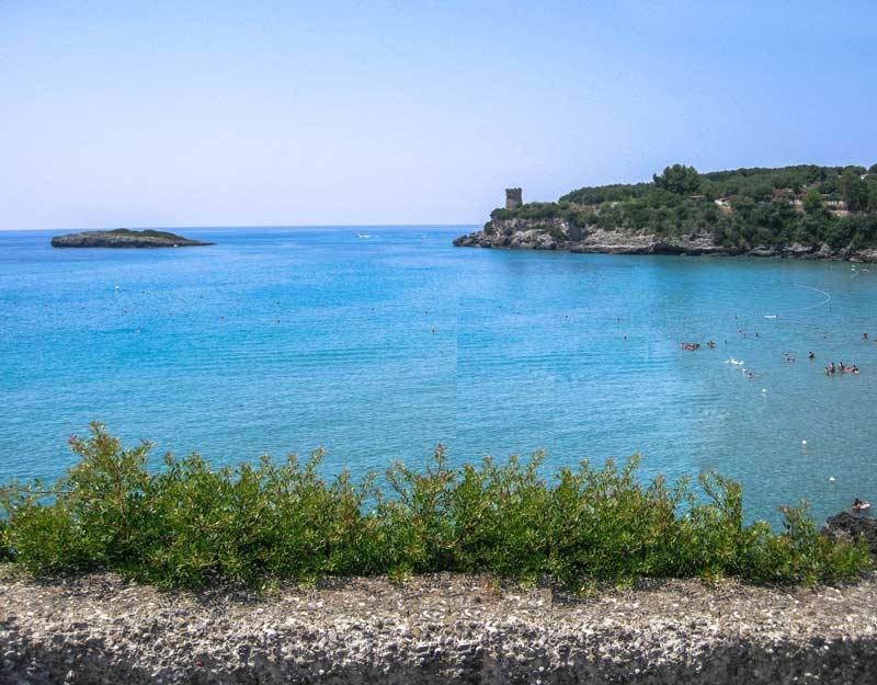 Spiaggia a Marina di Camerota
