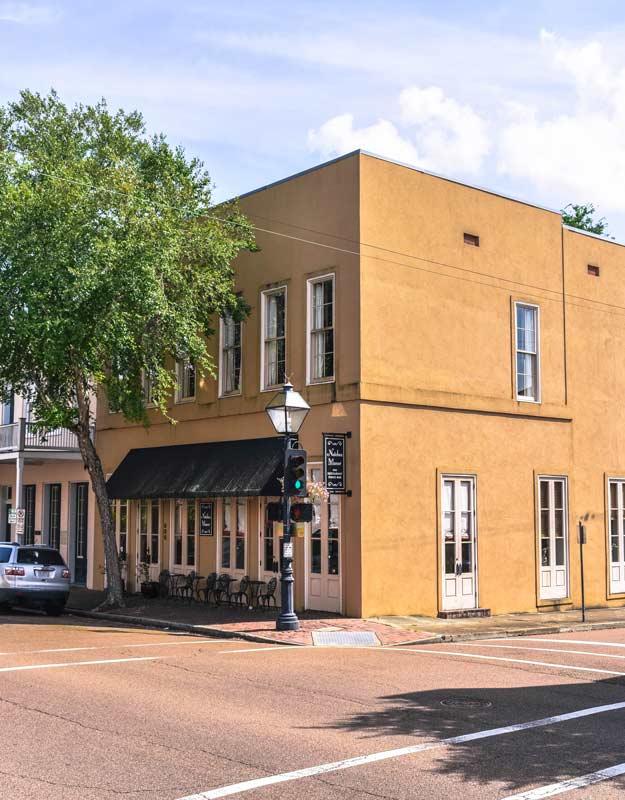 Strada di Natchez, Mississippi