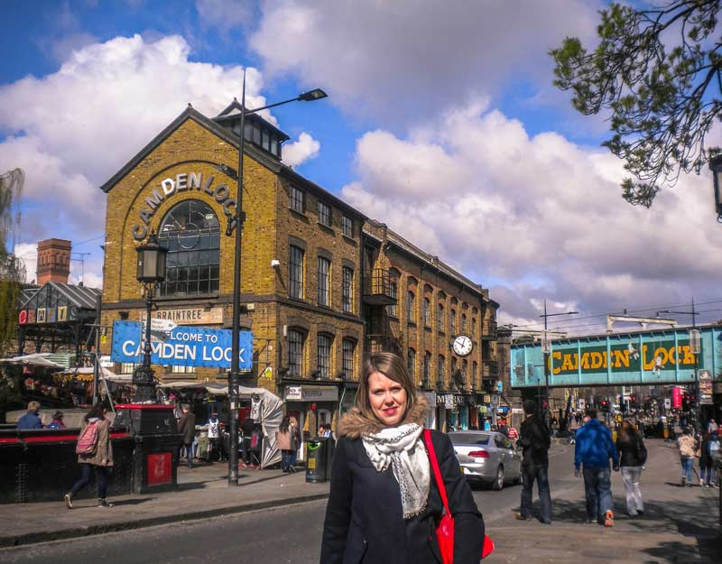 Il mercato di Camden Town a Londra