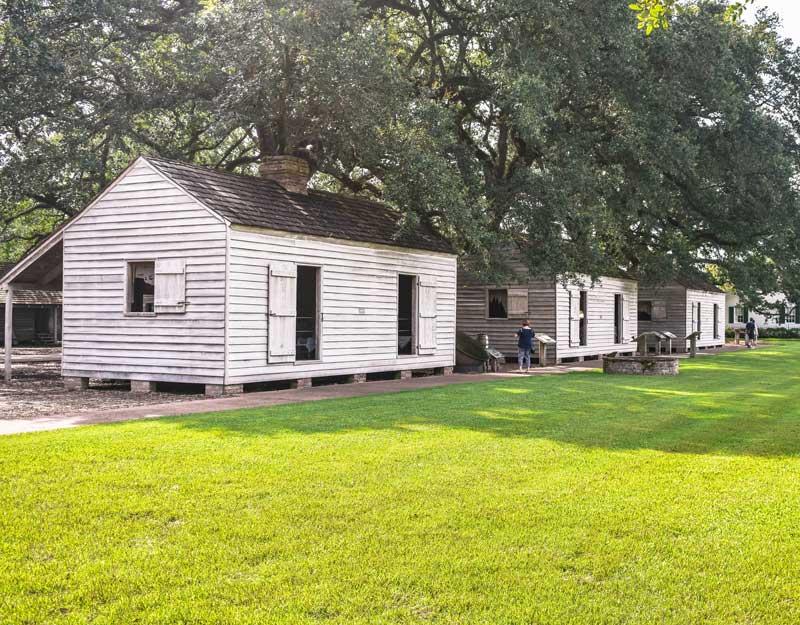 Case degli schiavi di Oak Alley