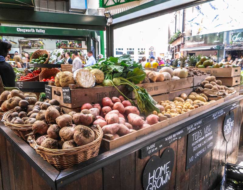 Visitare il Borough Market a Londra