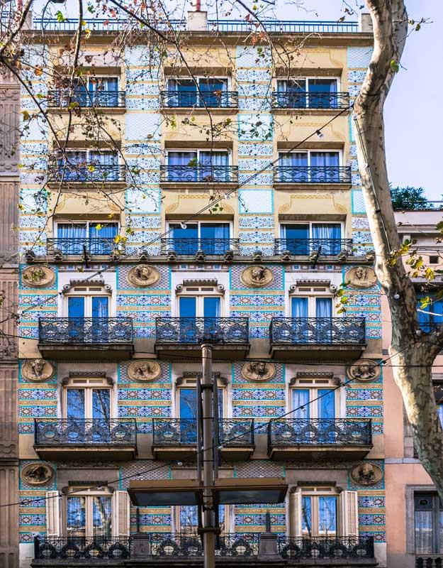 Casa di Barcellona in Spagna