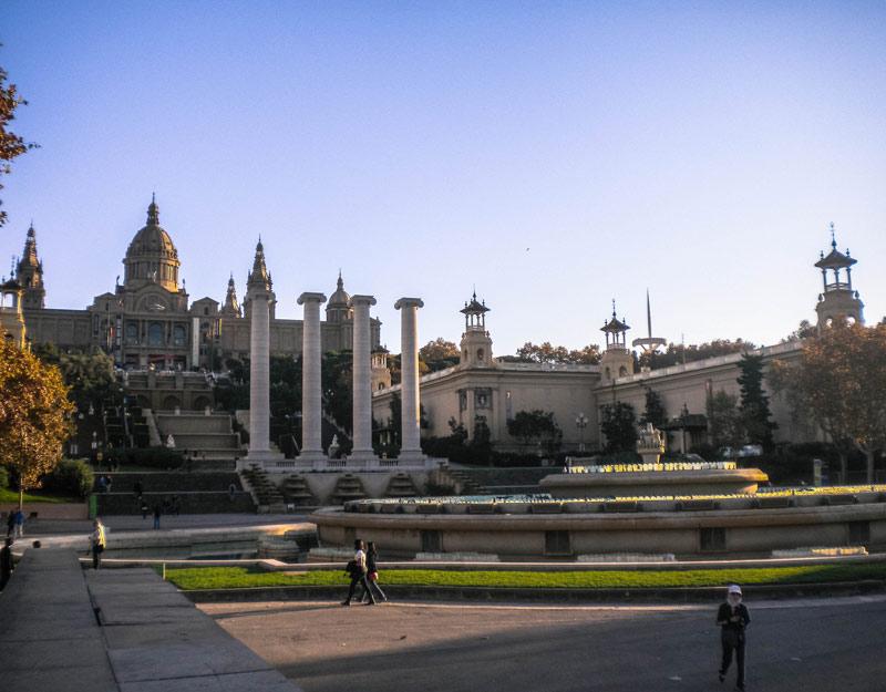 Fontana magica di Barcellona