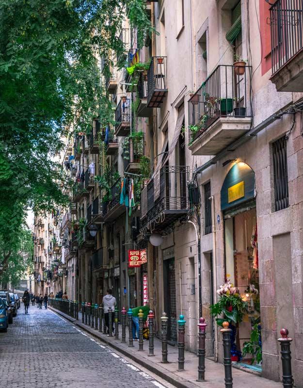 Strade di Barcellona