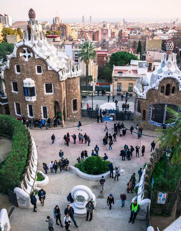 Visitare Parc Guell a Barcellona