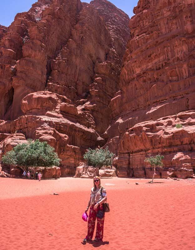 Canyon nel Wadi Rum