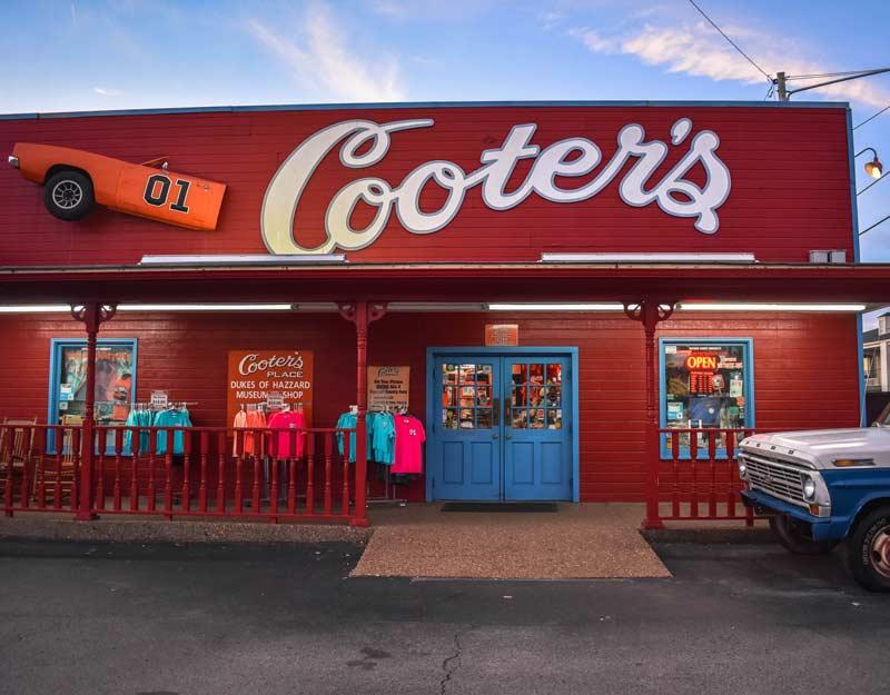 Cooter's, il museo di Hazzard a Nashville