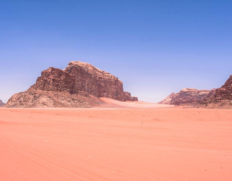 Il deserto rosso della Giordania