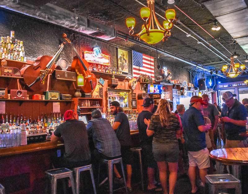 Honky tonk bar di Nashville