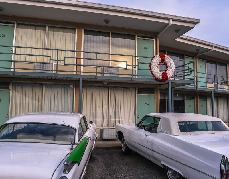 Lorraine Motel: la stanza di Martin Luther King