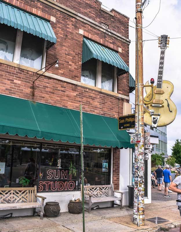 Sun Studio a Memphis