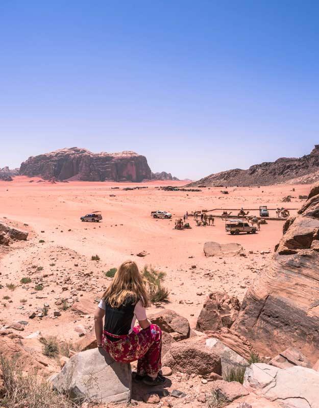 Vista del Wadi Rum