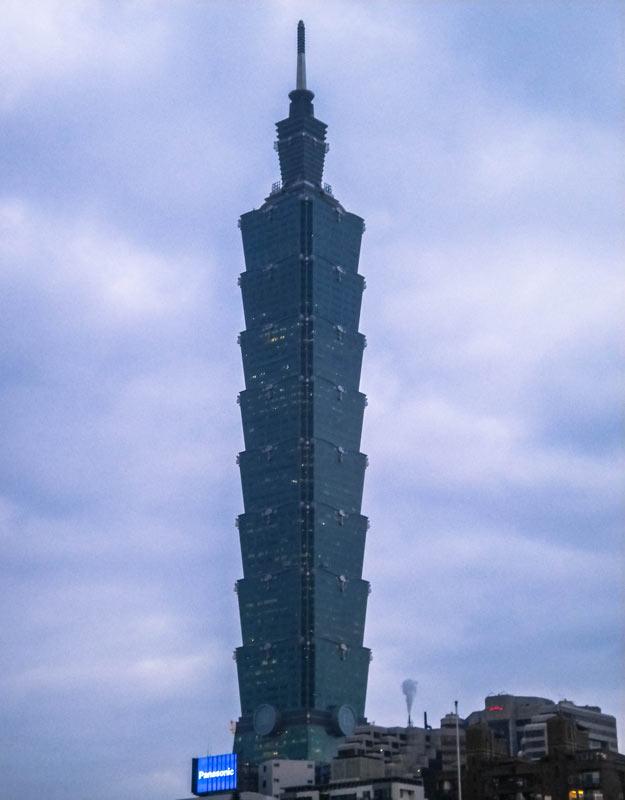Taipei 101 a Taiwan