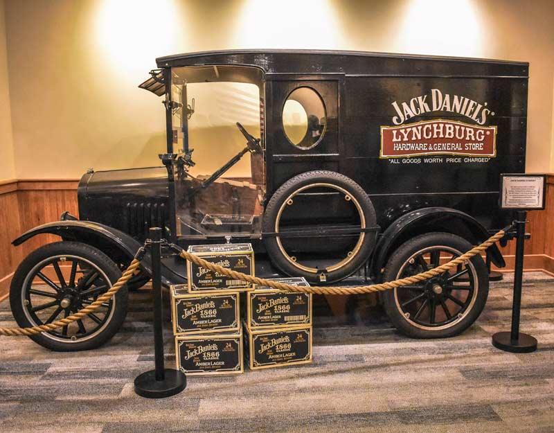 Tour del Jack Daniel's in Tennessee